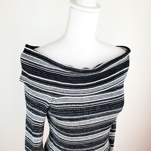 NWT Candie's L off the shoulder top